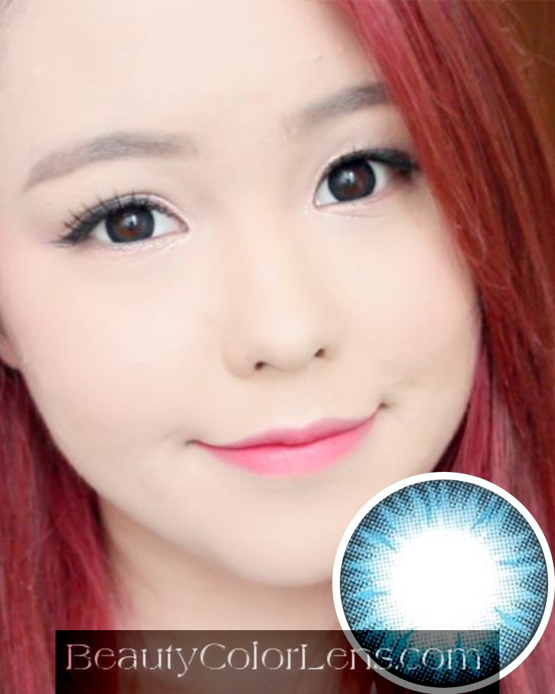 GEO BELLA BLUE BS-202 BLUE CONTACT LENS