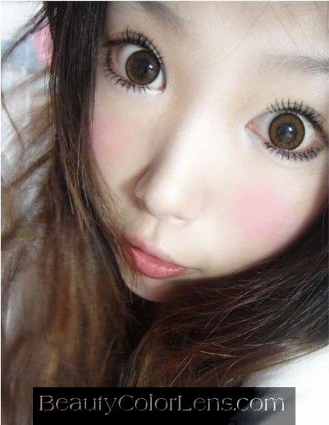 GEO ANGEL BROWN CM-834 BROWN CONTACT LENS