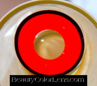 GEO SF-88 CRAZY LENS HYPER RED MARILYN MANSON HALLOWEEN CONTACT LENS