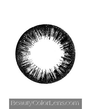 DUEBA BT01 BLYTHE BLACK CONTACT LENS