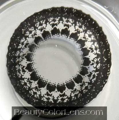 DUEBA LACE BLACK CONTACT LENS