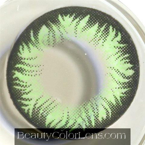 DUEBA PINKY PEARL GREEN CONTACT LENS