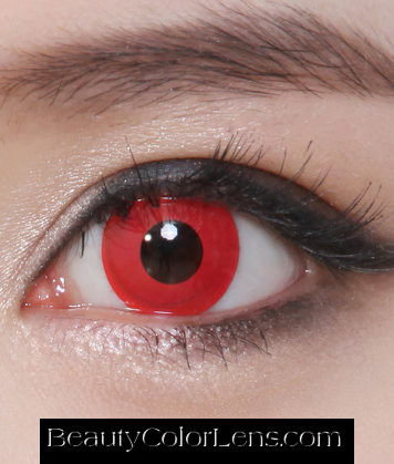 GEO CP-F3 CRAZY LENS TWILIGHT VOLTURI VAMPIRE HALLOWEEN CONTACT LENS