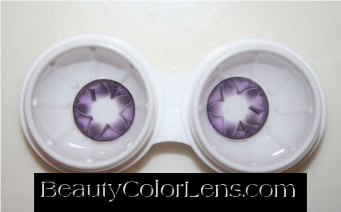 GEO FAIRY OF WATER VIOLET WH-A51 VIOLET CONTACT LENS