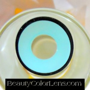 GEO SF-34 CRAZY LENS BLUE BLACK RING HALLOWEEN CONTACT LENS