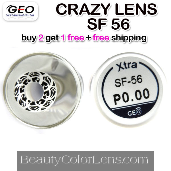 GEO CRAZY SF-56 HALLOWEEN CONTACT LENS