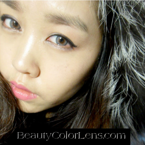 GEO SPARKLING GRAY AN-A55 GRAY CONTACT LENS