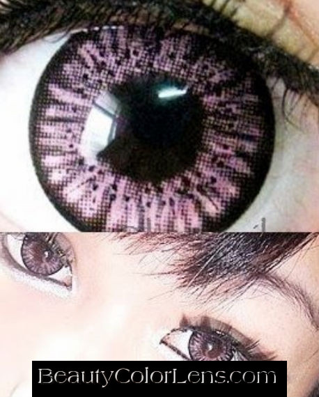 GEO PUFFY MELON PINK WT-B27 PINK CONTACT LENS