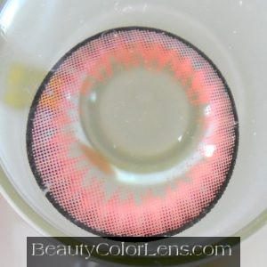 VASSEN ALICE RED CONTACT LENS