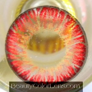 VASSEN BIG PUFFY RED CONTACT LENS