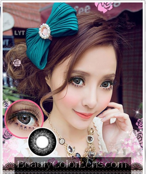 VASSEN CHEERFUL BLACK CONTACT LENS