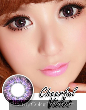 VASSEN CHEERFUL VIOLET CONTACT LENS