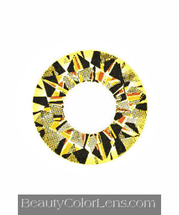 VASSEN DIAMOND 3 TONE GOLD CONTACT LENS