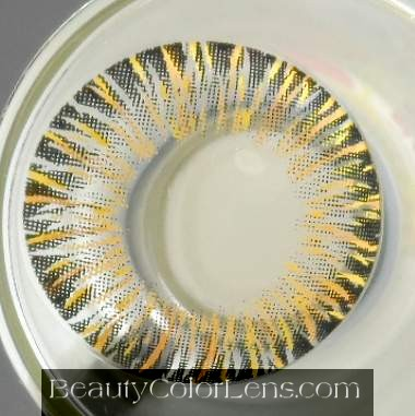VASSEN GLAMOUROUS 4 TONE BROWN CONTACT LENS
