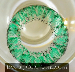 VASSEN CRYSTAL GREEN CONTACT LENS