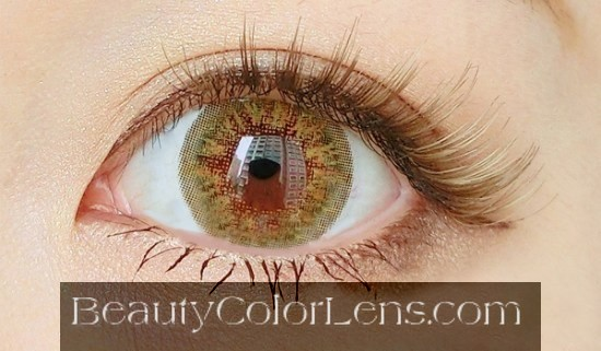 DUEBA BABY QUEEN GOLD CONTACT LENS