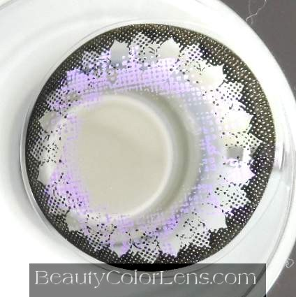 GEO FLOWER LOTUS VIOLET WFL-A11 VIOLET CONTACT LENS