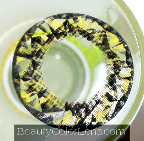 VASSEN DIAMOND GOLD CONTACT LENS