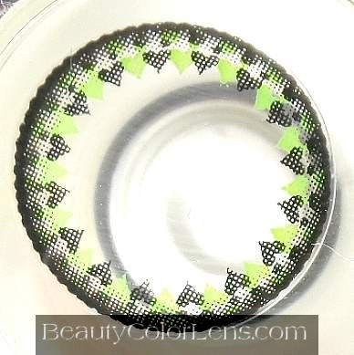 VASSEN FIRST LOVE GREEN CONTACT LENS