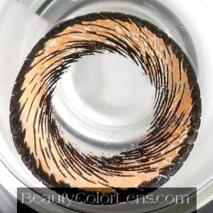 VASSEN HANABI BROWN CONTACT LENS