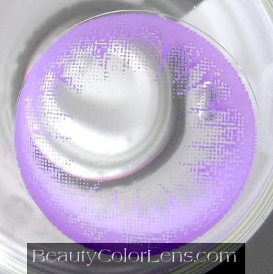 VASSEN LADY BUBBLE VIOLET CONTACT LENS