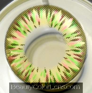 DUEBA FAIRY GREEN CONTACT LENS