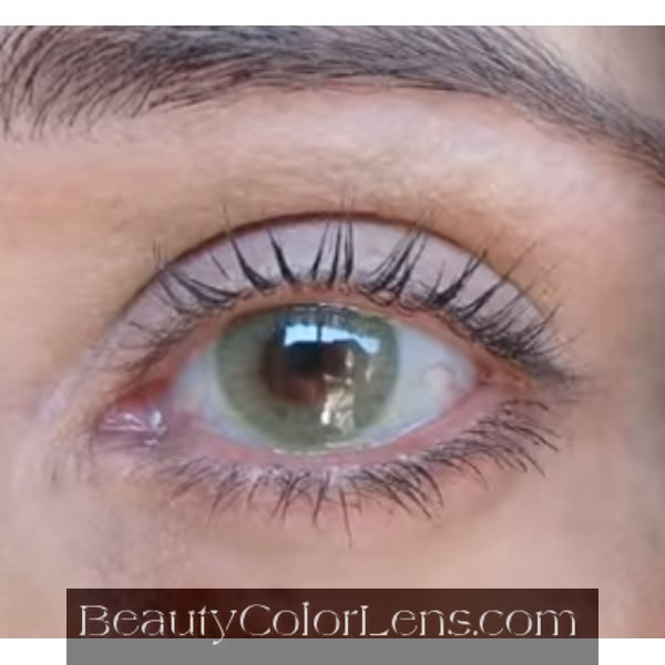 DUEBA HIDROCOR CRYSTAL GREEN CONTACT LENS