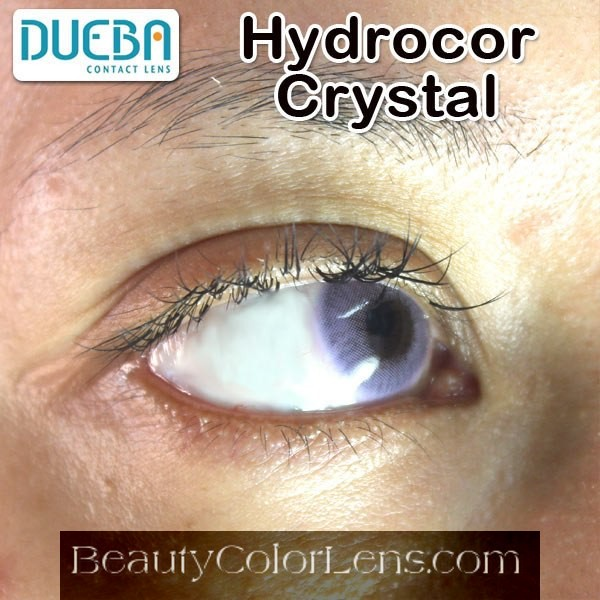 DUEBA HIDROCOR CRYSTAL VIOLET CONTACT LENS