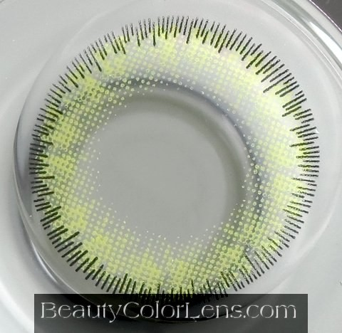 DUEBA LILY GOLD CONTACT LENS