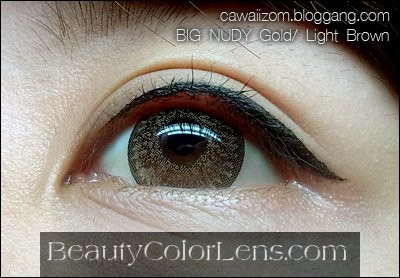 DUEBA SUPER NUDY GOLD CONTACT LENS