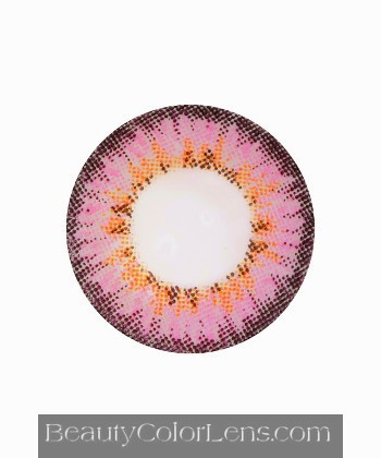 DUEBA PUFFY PINK CONTACT LENS