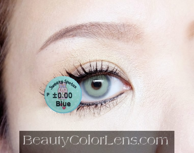 DUEBA SWEETY SPATAX BLUE CONTACT LENS