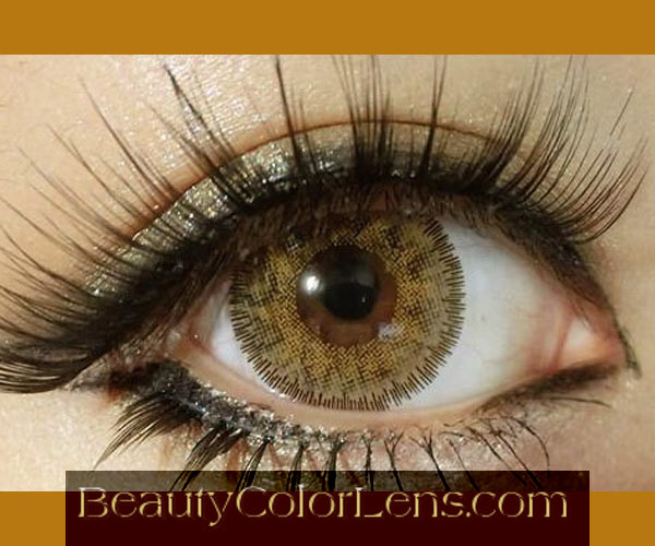 DUEBA VIRGIN BROWN CONTACT LENS