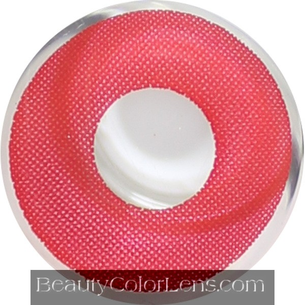 DUEBA CRAZY DEVIL RED HALLOWEEN CONTACT LENS