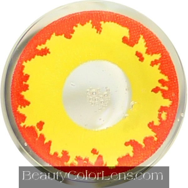 DUEBA CRAZY EAGLE EYES HALLOWEEN CONTACT LENS