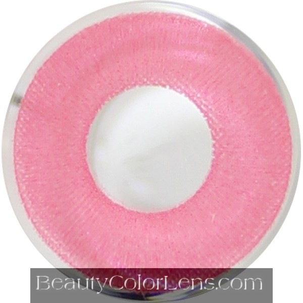 DUEBA CRAZY PINK HALLOWEEN CONTACT LENS