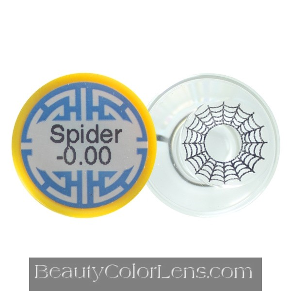 DUEBA CRAZY SPIDER WEB HALLOWEEN CONTACT LENS