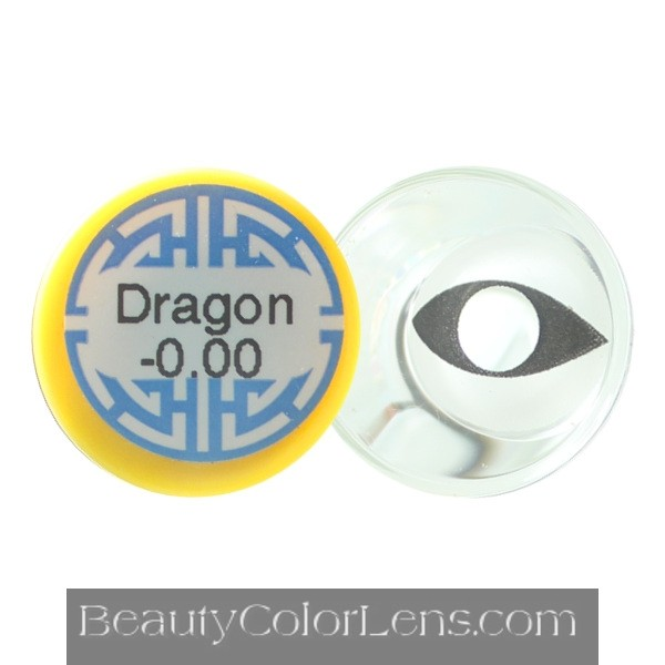 DUEBA CRAZY WHITE CAT HALLOWEEN CONTACT LENS