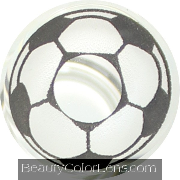 DUEBA CRAZY FOOTBALL HALLOWEEN CONTACT LENS