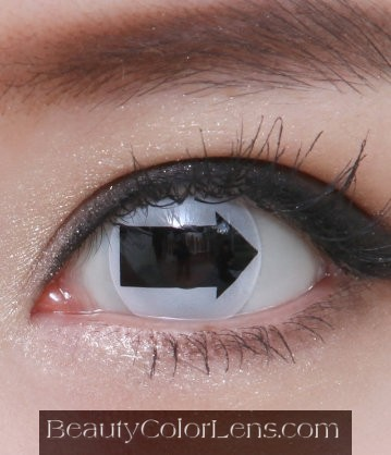 GEO SF-41 CRAZY LENS BLACK ARROW HALLOWEEN CONTACT LENS