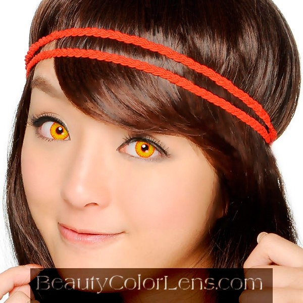 GEO SF-01 CRAZY LENS BLOODY WOLF EYES HALLOWEEN CONTACT LENS