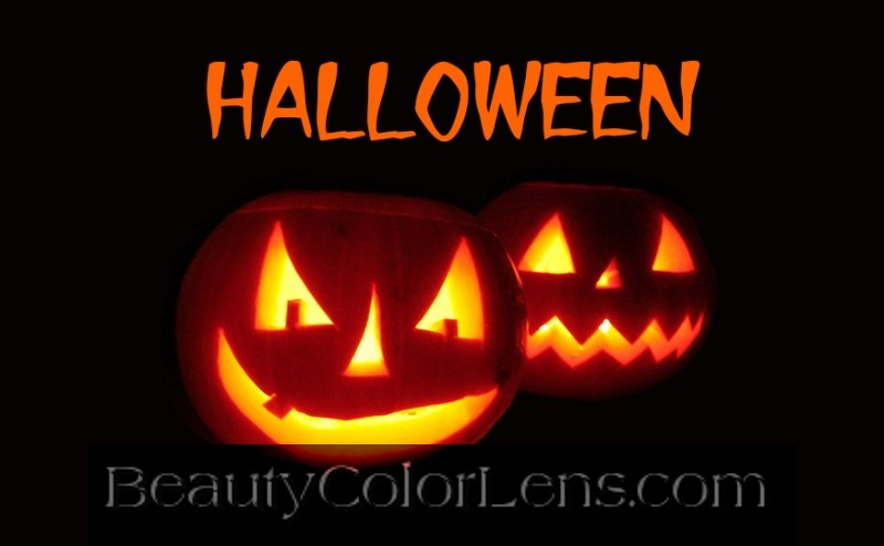 GEO SF-48 CRAZY LENS WHITE COMPASS HALLOWEEN CONTACT LENS