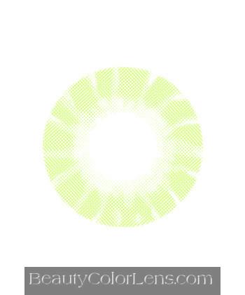DUEBA HIDROCOR GREEN CONTACT LENS
