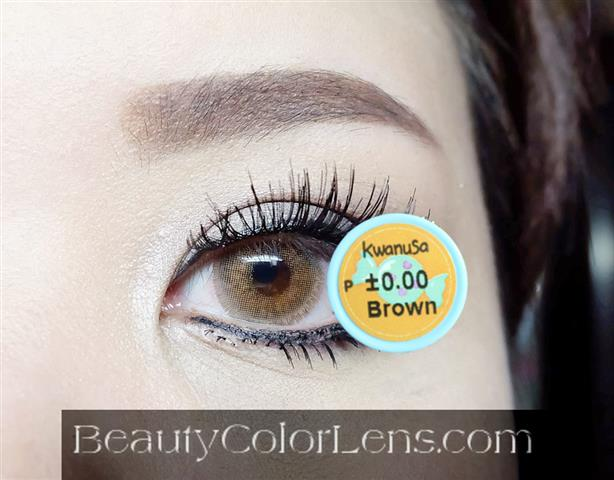 DUEBA KWANUSA BROWN CONTACT LENS