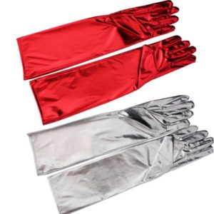 36g cosplay maid satin gloves fabric gloves