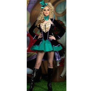 Alice In Wonderland Cosplay Costume Queen Costume Female Elegant Women Party Cosplay Poker queen costumes