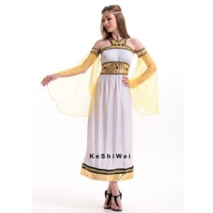 Ancient Egypt Queen Dress Egyptian Princess Costume Women Halloween Cosplay