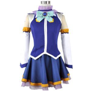 Anime Kono Subarashii Sekai ni Shukufuku wo! Cosplay Costumes Aqua Cosplay Dress Kazuma Satou Megumin Uniform