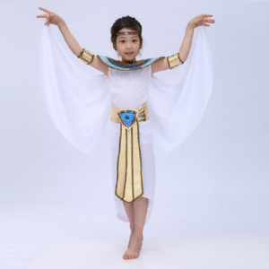 Children Halloween Cosplay Masquerade queen Cleopatra costume for girls Princess costume