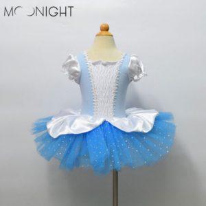Children dance Tulle Dress Girl Ballet Dress Performance Leotard Costume